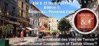 2017 BRIGNOLES PROVENCE VERTE - Concours international des Vins de Terroir International Competition of Terroir Wines - EDITION  5
