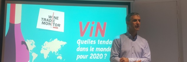 François Collache, chef de marché Drinks de Sopexa présente les grandes tendances du marché mondial du vin sur les deux prochaines années.