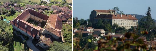 Dominant l'Adour, le monastère de Saint-Mont voit ses racines historiques aller de l'église du XIIème siècle au château du XVIIème.