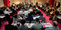 Le programme dense de Master Class constitu� l'un des arguments marketing fort de Vinisud.