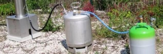 Un générateur anti-grêle installé en Bourgogne