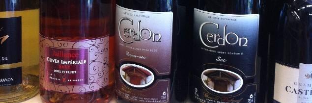 Le Cerdon est un vin d'AOP méthode ancestrale rosée élaboré à partir du cépage Gamay