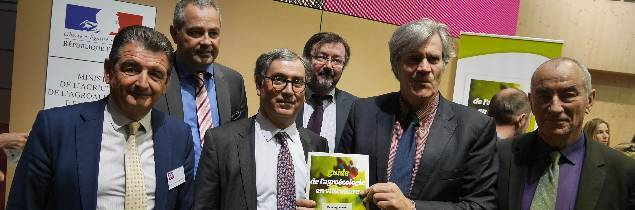 Jean-Pierre Van Ruyskenvelde, Eric Paul, Bernard Angelras, Christian Paly, Stéphane Le Foll et Jean-Louis Piton