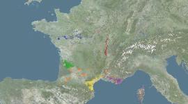 L'INAO cartographie le vignoble des AOC