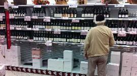 Une consommation de vin toujours en baisse