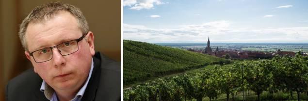 ice-président depuis trois ans du CIVA, Didier Petterman est le PDG de la maison familiale Petterman (une vingtaine d'hectares autour de la ville de Dambach).
