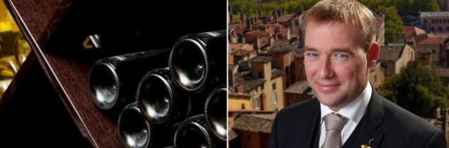 À 32 ans, le sommelier est depuis 8 ans le chef sommelier du restaurant lyonnais Villa Florentine (une étoile au Guide Michelin).