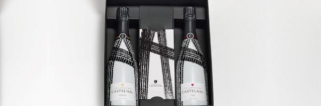 Les champagnes Castelnau ne sont pas visibles sur les podiums, mais durant les évènements VIP du Tour de France.