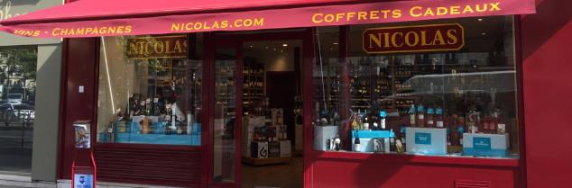 Fondé en 1822, le réseau de cavistes Nicolas est depuis 1988 une filiale du groupe bordelais Castel Frères.