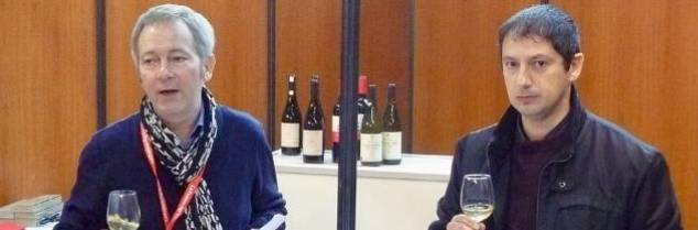 « Au goût, on voit que la biodiversité méditerranéenne peut apporter des solutions aux sécheresses» prouventRégis Cailleau et Christophe Séréno, ce 10 novembre lors de leur dégustation de cépages étrangers (étaient également mis à l'honneur le Xinomavro grec et le Touriga Nacional portugais).