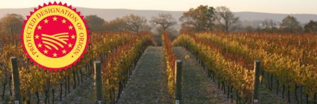 La 'Protected Designation of Origin' des vins du Sussex ferait autant office de label de qualité que de marque de reconnaissance pour le vignoble anglais.