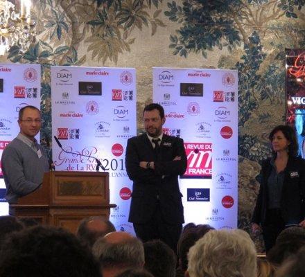 Le prix du vigneron de l'année remis à Emmanuel Reynaud, Château Rayas