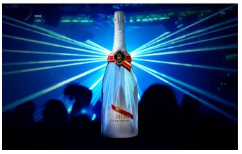 Mumm lance la première bouteille de champagne connectée pour sa clientèle «VIP»