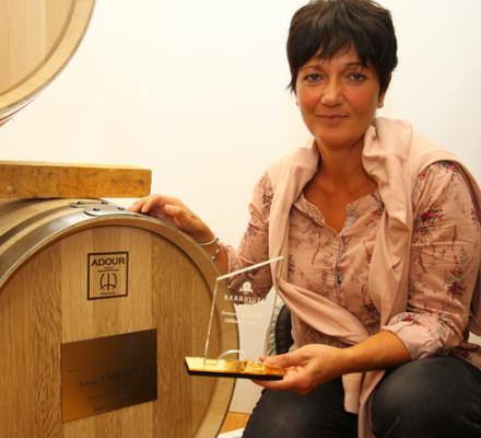 Pacherenc du Vic Bihl : Sabine Laborde remporte la barrique d'or