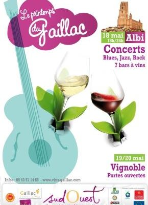 Oenotourisme : les Vins de Gaillac fêtent leur Printemps à Albi