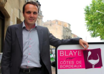 Un homme de marketing à la tête de l'AOC Blaye Côtes de Bordeaux