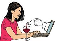 Ventes de vins sur internet : de 5,45 % au Royaume Uni à moins de 1 % en Chine et au Canada