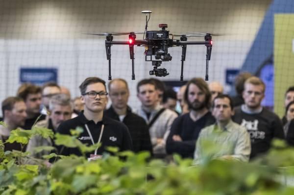 Exposition spéciale sur les drones et la robotique