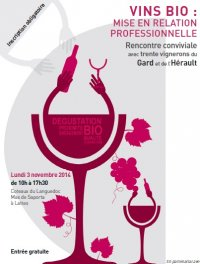 Dégustation de vins Bio - Mas de Saporta