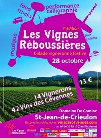 Les Vignes Réboussières - Balade vigneronne festive et artistique !
