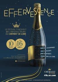 Effervescence : le Festival itinérant des producteurs de Crémant de Loire