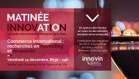 Matinée Innovation | Commerce international : recherches en marketing et économie