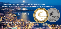 MONACO 2019 - Femmes et Vins du Monde - Women and Wines of the World - EDITION 13