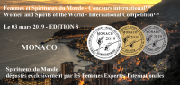 MONACO 2019 - Femmes et Spiritueux du Monde - Women and Spirits of the World  EDITION 8