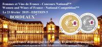 BORDEAUX 2019  Femmes et Vins de France  Concours National -  EDITION 5
