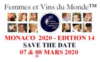 MONACO 2020 - Femmes et Vins du Monde - Women and Wines of the World - EDITION 14