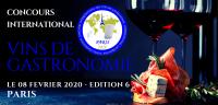 PARIS 2020 - CONCOURS INTERNATIONAL DES VINS DE GASTRONOMIE - INTERNATIONAL GASTRONOMIC WINES COMPETITION - EDITION 6