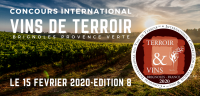 2020 BRIGNOLES PROVENCE VERTE - Concours international des Vins de Terroir International Competition of Terroir Wines - EDITION  8