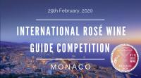 MONACO 2020  - Concours Guide International du Vin Rosé - International Guide of Rosé Wine - EDITION 8 - PRIMA