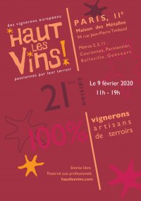 Haut Les Vins 2020 ! Première rencontre à Paris