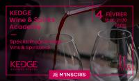 Soirée Portes Ouvertes Kedge Wine School Academy