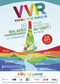 17e édition de Vignes, vins, randos en Val-de-Loire