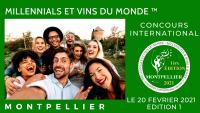 MONTPELLIER 2021 - MILLENNIALS ET VINS DU MONDE  - CONCOURS INTERNATIONAL - EDITION 1
