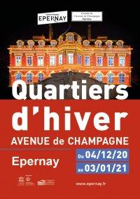 Quartiers d'hiver avenue de Champagne