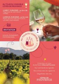 Au tour du vignoble Côtes-de-Provence