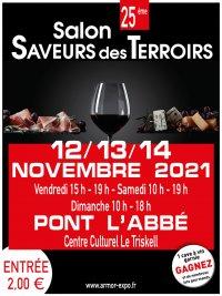 25e Salon Saveurs des Terroirs de Pont l