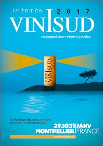 Vinisud 2017 - 29, 30, 31 janvier - Passionnément Méditerranéen
