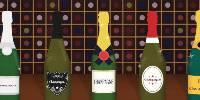 Les utilisateurs français de Vivino ont surtout scanné du Champagne lors des festivités du Nouvel An.