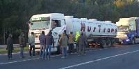 Le mardi 16 janvier au matin, ce sont les Jeunes Agriculteurs du Gard se sont réunis pour une action.