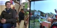 Le tracteur électrique Alpo est l'un des trois équipements que Vitisphere TV a rencontré sur le parcours bio de Vinitech.