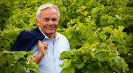 """I'm not a winegrower, I'm a salesman who tries to understand the consumer"", claims Bernard Magrez."