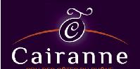 Nouvelle appellation, nouveau look: le logo choisi par l'ODG Cairanne représente un grain de raisin «d'élégance», pour représenter la finesse