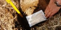 Le LEVAbag est un petit sachet contenant de la paille bio que l'on enterre dans le sol.