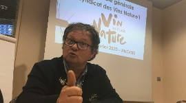 """Our charter prompts three types of reaction from winegrowers: ""It gets on my nerves"", ""I have things to hide"" and ""OK, we have to take the plunge, this is the way of the world"", commented Jacques Carroget on 3 February in Angers."