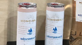 Still presented as a prototype, the Moncigale branded rosé in a can (2019 IGP Méditerranée) should be the first wine to use the future canning facilities.