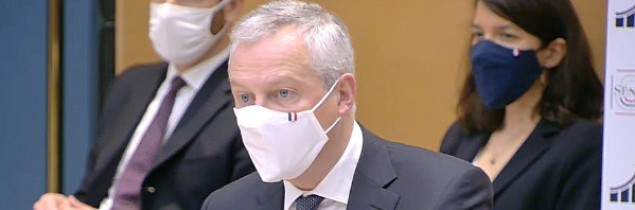 "A confident Bruno Le Maire, France's Minister of the Economy, says he is ""hopeful that we can get the ball rolling over the coming weeks""."